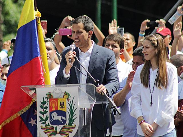De konservativa partierna rullade i helgen i Madrid ut röda mattan för Venezuelas Juan Guaidó. ARKIVBILD Foto: Wikimedia Commons