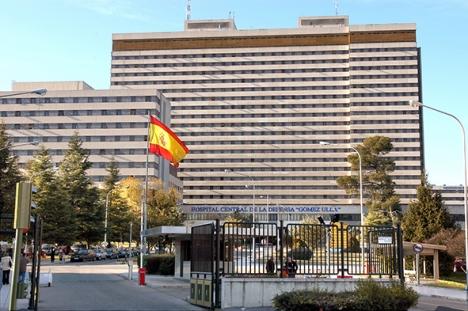 De evakuerade från Wuhan kommer att hållas två veckor i karantän i militärsjukhuset Gómez Ulla, i Madrid. Foto: Aortizgon/Wikimedia Commons