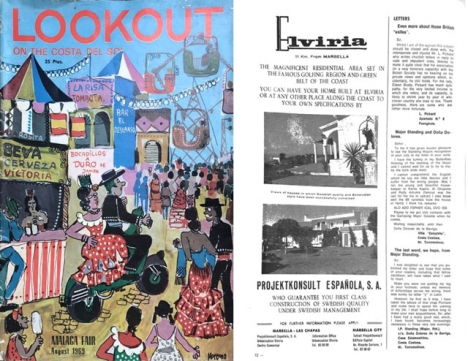 Den ledande tidningen för utlänningar på Costa del Sol Lookout höll en anmärkningsvärt hög kvalitet redan för mer än 50 år sedan.