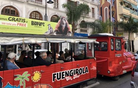 Turisttåg i Fuengirola.
