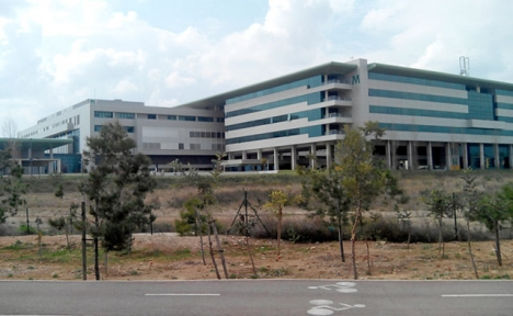 Sjukhuset Son Espases på Mallorca.