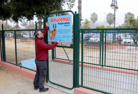 Hundparken omfattar 420 kvadratmeter vid Jardines de Alhucemas. Foto: Ayto de Almunécar