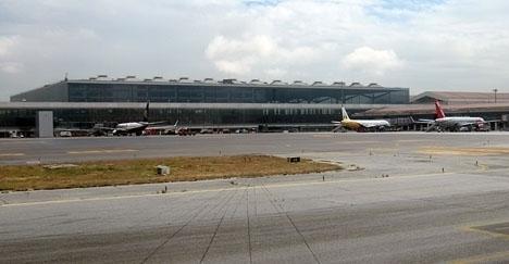 Kvinnan hade checkat in väskan på ett flyg från Málaga till Manchester.
