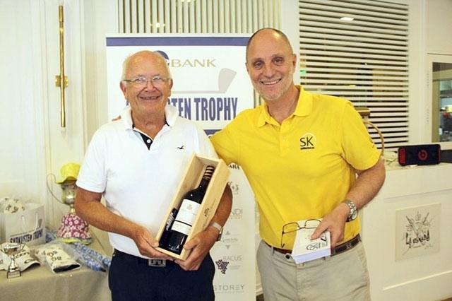 Kenneth Lundqvist gjorde hole-in-one vid Sydkustens senaste golftävling 14 februari på La Cañada Golf.