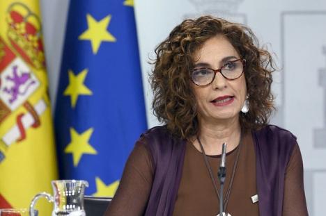Skatteministern María Jesús Montero motiverar skattehöjningarna med behovet att modernisera skattesystemet.