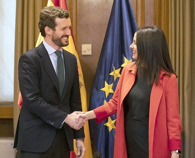 PP.s hittilsvarande kandidat i Baskien Alfonso Alonso vägrade acceptera den koalitionsöverenskommelse som undertecknats av partiledarna Pablo Casado (PP) och Inés Arrimadas (C:s). Foto: PP