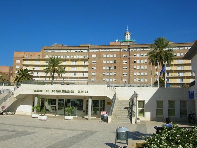 Den första coronapatienten i Andalusien hålls isolerad på sjukhuset Vírgen del Rocío i Sevilla och uppges ha lindriga symptom. Foto: Zeier Gregory/Wikimedia Commons