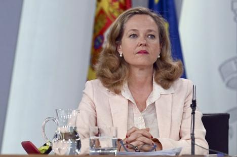Finansministern Nadia Calviño anser att konsekvenserna av coronakrisen kommer att vara begränsade.