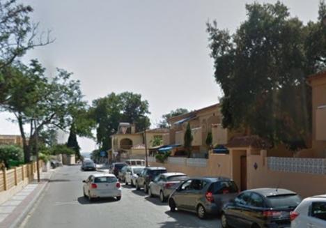 En 66-årig man sköts 15 november förra året ihjäl vid bostadsområdet Andasol och ytterligare en man skadades svårt. Foto: Google Maps
