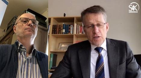 Sveriges ambassadör i Madrid Teppo Tauriainen har tagit sig tid att svara på frågor från Sydkustens chefredaktör Mats Björkman.