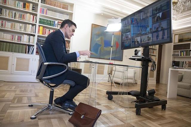 Pedro Sánchez vägrade 27 mars underteckna en europeisk handlingsplan, som han finner vara otillräcklig för att bekämpa coronakrisen. Foto: PSOE