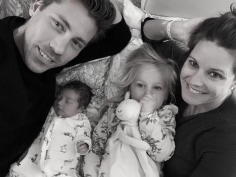 Mattias föddes 22 mars på Quirónsalud i Marbella. Foto: Privat