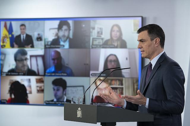 Pedro Sánchez annonserade 28 april en nedtrappningsplan, som ska vara fullbordad till 29 juni.