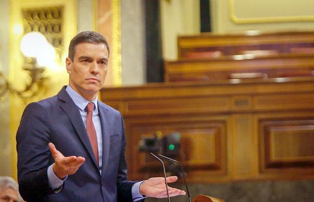 Debatten mellan Pedro Sánchez och de konservativa grupperna var åter hätsk. Foto: PSOE