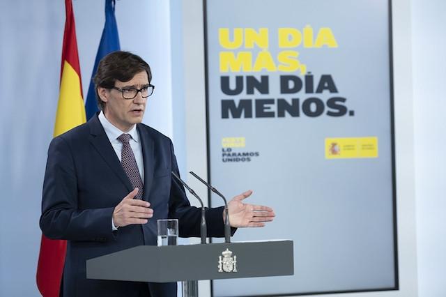 Hälsovårdministern Salvador Illa säger att undersökningen är en detaljerad röntgenbild av den aktuella situationen gällande smittspridningen i Spanien.