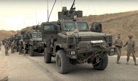 Spanska trupper i Irak.