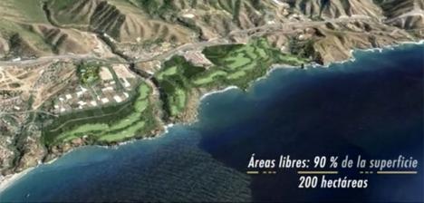 Maro golf är en planerad 18-hålsbana precis vid havet som uppges bli en av världens tio främsta golfbanor.