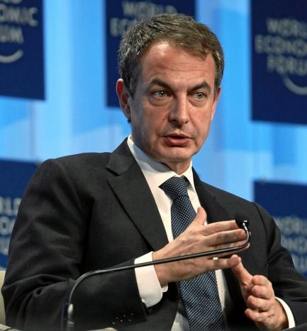 Den tidigare spanske regeringschefen José Luís Rodríguez Zapatero fick mycket ovett för sin motvilja att tillämpa en hård svångremspolitik och tvingades slutligen krypa till korset av EU-kommissionen. Foto: Monika Flueckiger, World Economic Forum/Wikimedia Commons