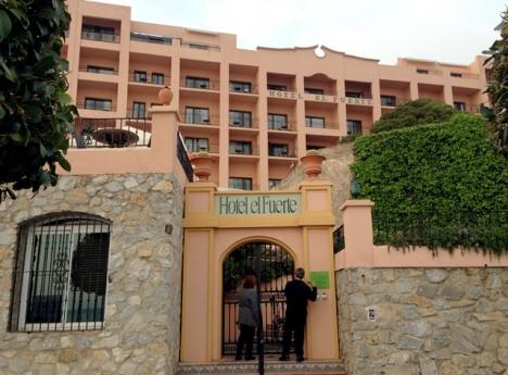 Hotell El Fuerte i Marbella har äntligen fått licens för att byggas om till femstjärnigt. Foto: Mats Björkman