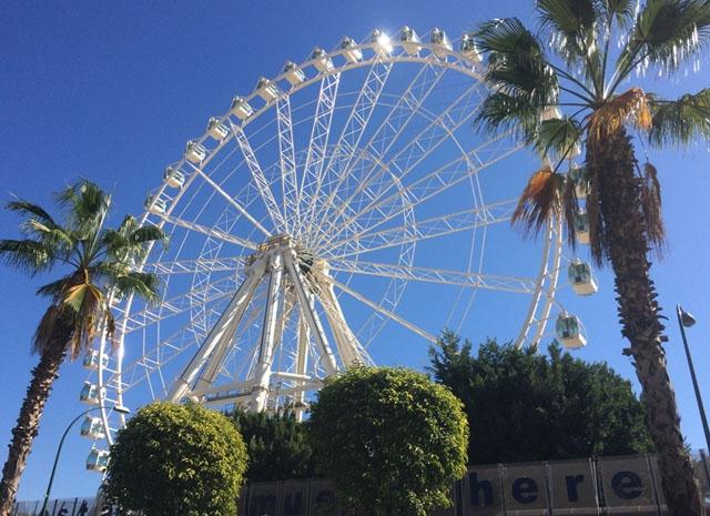 Pariserhjulet i Málaga blev en tillfällig del av stadsbilden och nu kan San Pedro få ett likvärdigt.