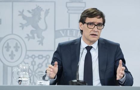 Hälsovårdsministern Salvador Illa finner att de vidtagna åtgärderna i Huesca är tillräckliga,