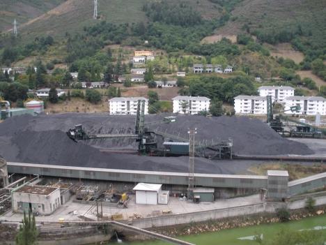 Kolkraftverket i Narcea i Asturien, är ett av sju spanska kolkraftverk som lägger ned sin verksamhet denna vecka.