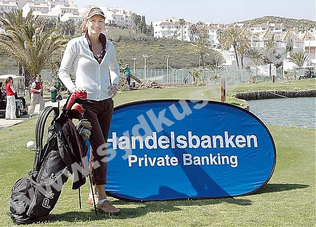 Svenska golfproffset Catrin Nilsmark besökte i mitten av mars Costa del Sol.