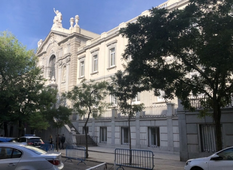 Högsta domstolen i Madrid.