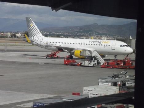 Málagas flygplats återupptar sin aktivitet med en prognos på 100 operationer dagligen under juli månad.