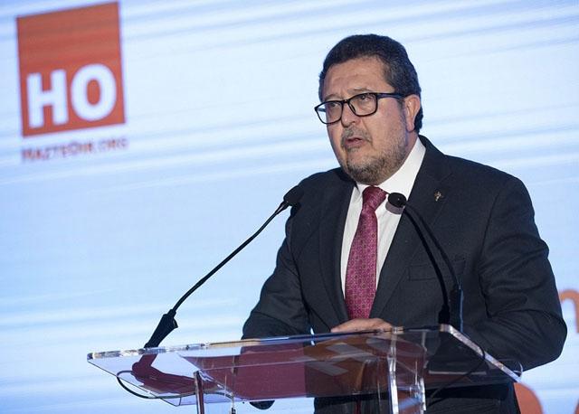 Francisco Serrano har lämnat Vox, men håller sig kvar vid sin parlamentspost. Foto: HazteOir.org/Wikimedia Commons