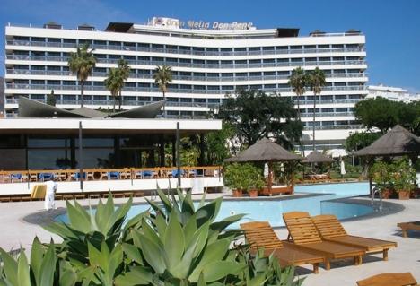 Dödsolyckan inträffade på hotell Gran Meliá Don Pepe i Marbella natten till lördagen.