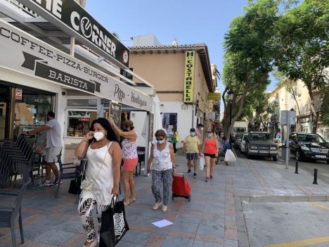 I Spanien uppger 86 procent att de använder munskydd på offentlig plats. Det är den högsta siffran i Europa, tillsammans med Italien.