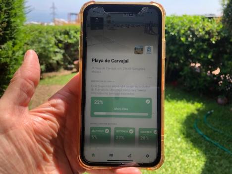 Appen Social Guardian underlättar för Fuengirolabor och turister med information om beläggningen i realtid.