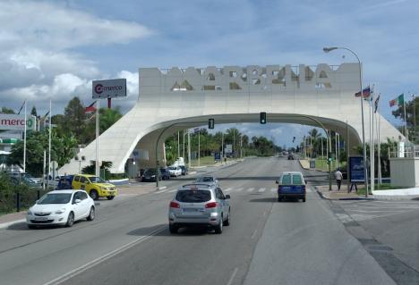 Den senaste smitthärden i Málagaprovinsen finns i Marbella.