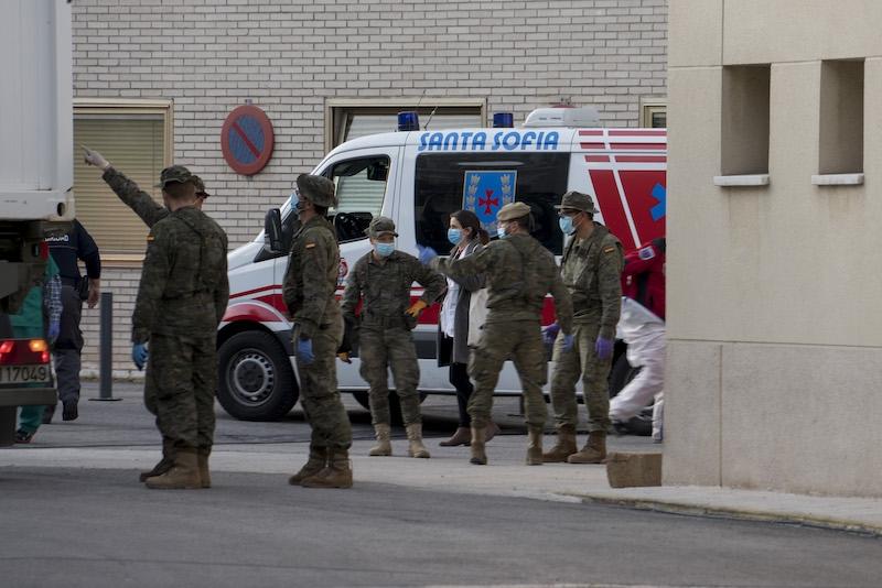 Antalet dödsoffer i Covid-19 i Spanien uppgår till nästan 45 000 personer.