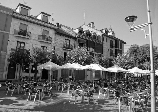 Aranda del Duero har omkring 32 000 invånare. Foto: David Adam Kess/Wikimedia Commons
