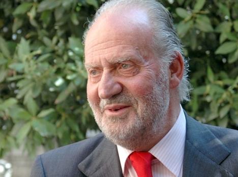 Ett fotografi styrker att Juan Carlos 3 augusti skulle ha landat  i Abu Dabi.