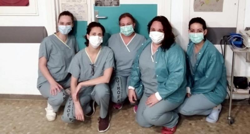 Vårdpersonalen förbereder sig för en ny våg av coronapatienter. ARKIVBILD