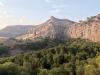 Kristusstatyn vakar från drygt 426 meters höjd över både Pizarra och större delen av Guadalhorcedalen.
