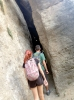 Raja Ancha är en jättelik spricka i berget, som leder in i en grotta.