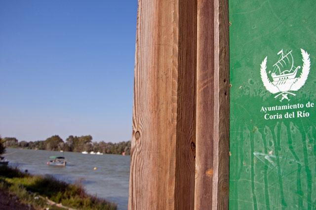 De två drabbade samhällena ligger vid Guadalquivirfloden. Foto: David Pineda