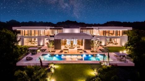 Villa Cullinan ligger ute för 32 miljoner euro och toppar därmed listan över Spaniens dyraste objekt just nu. Foto: Idealista
