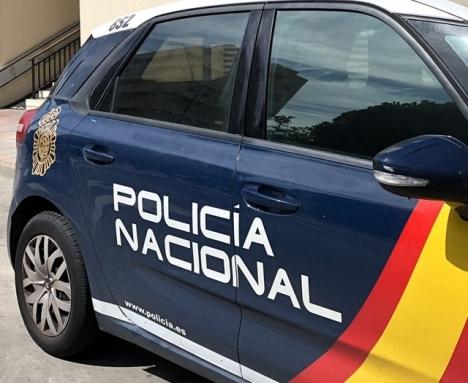 Händelsen utreds av Policía Nacional.