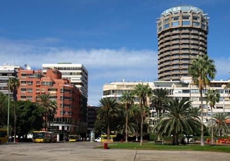 Den åtalade mannen hyrde ut ett rum i sin lägenhet i kvarteret Santa Catalina, i Las Palmas. Foto: Uwe Barghaan/Wikimedia Commons