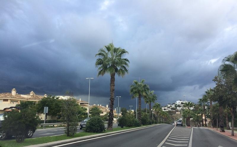 September är den månad då det historiskt sett registrerats flest översvämningar på Costa del Sol.