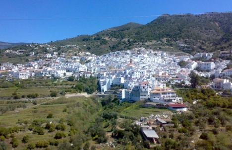 Cómpeta, öster om Málaga, har hittills i år ökat sitt invånarantal med mer än 100 personer.