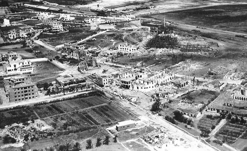 Explosionen i Cádiz 1947 är tillsammans med tsunamin 1755 stadens största tragedi. Foto: www.laexplosiondecadiz.es