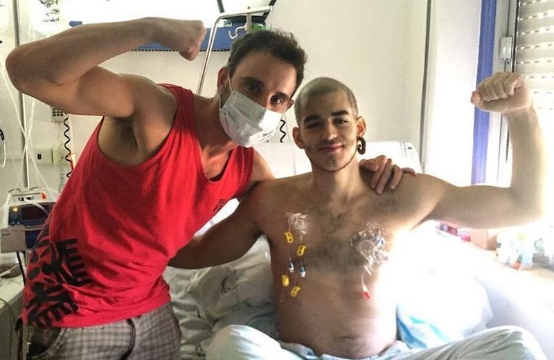 Dani Rovira var en av de som var mest engagerade i Pablo Ráez kamp mot cancern. När han själv blev sjuk gjorde han Pablos motto till sitt,