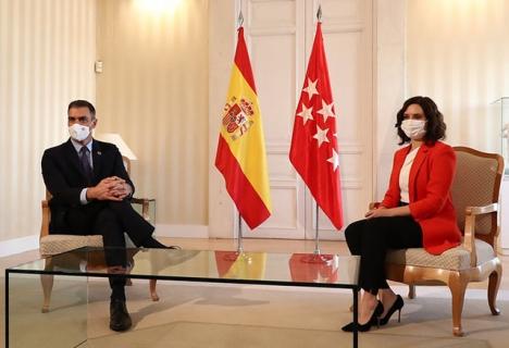 Mer än ett krismöte framstod träffen 21 september mellan Pedro Sánchez och Isabel Díaz Ayuso som ett statsbesök.