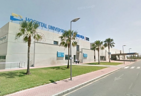 Universitetssjukhuset i Torrevieja.